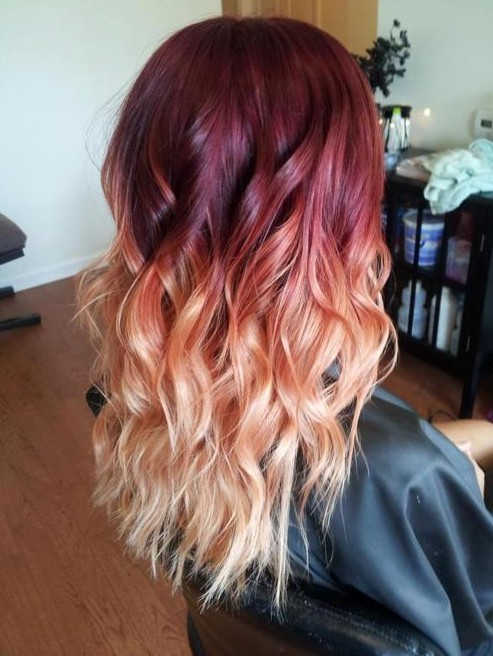 25 red blue and purple ombre hair colors to shine red blue and purple ombre hair color ideas urmus Gallery