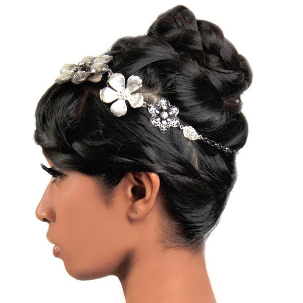 5 Dependable Wedding Hairstyles For Black Women At 30: 25 Handy Wedding Hairstyles For Black Brides To Feel Special