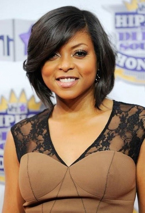 Short Bob Hairstyles for Black Women with Square Faces