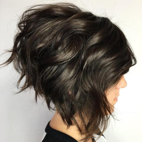 Voluminous Short Bob