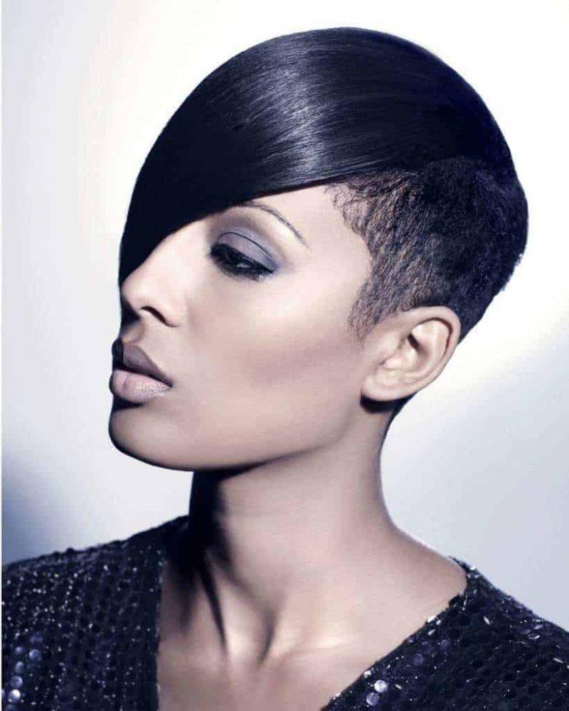 Black ladies blunt cut for hairstyles Bob Haircuts