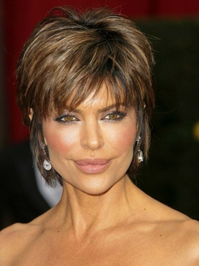 Tapered Short Hairstyles for Older Women