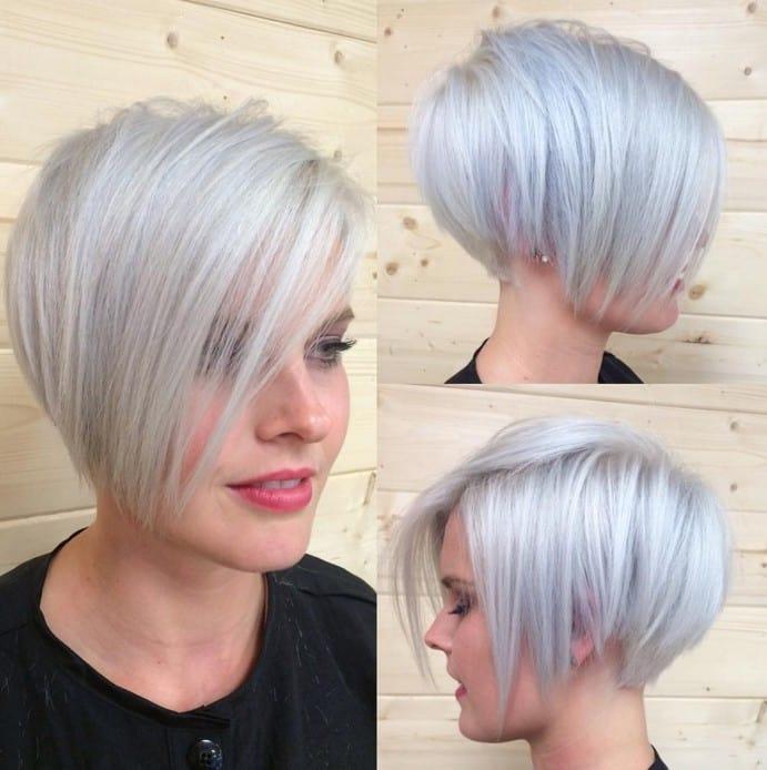 15 Modern Short Grey Hair for Trendy Girls – HairstyleCamp