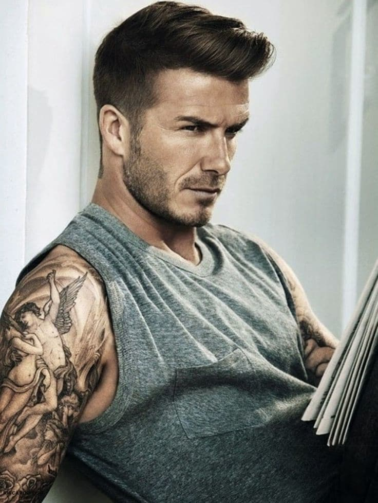 10 Short Pompadour Haircuts For Guys With Retro Flair