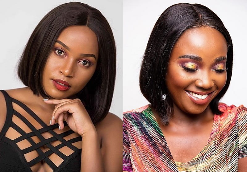 12 Head Turning Straight Hairstyles For Black Women