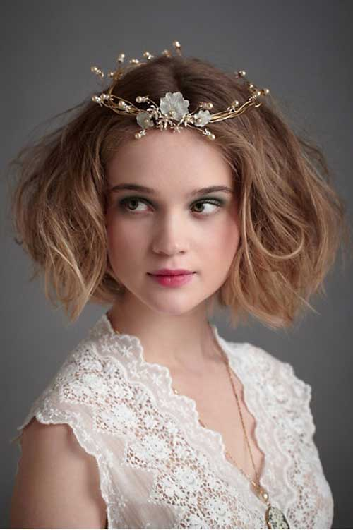 25 Greatest Wedding Hairstyle Ideas With Short Hair