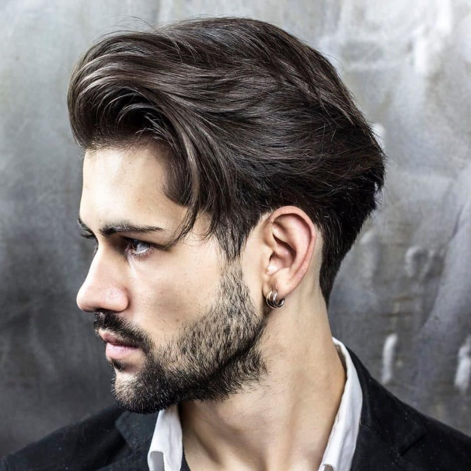 Sideburns hairstyle for young men