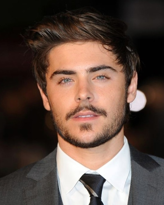 mens Moustache with beard