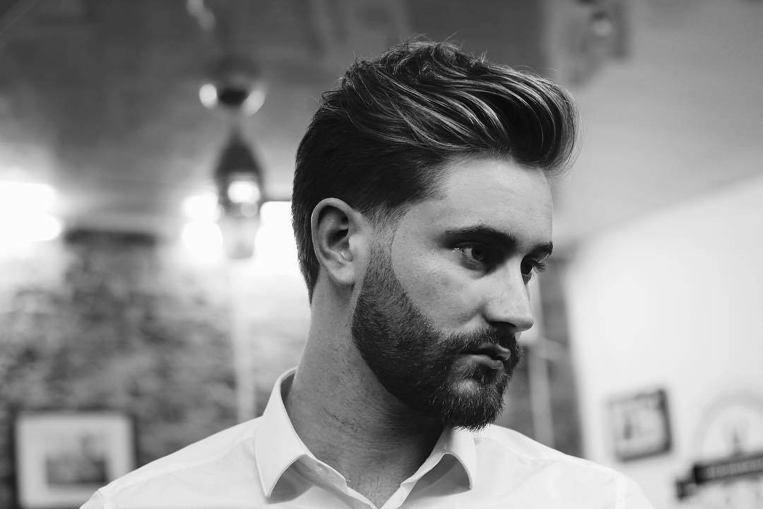 15 Men's Taper Fades For Long Hair