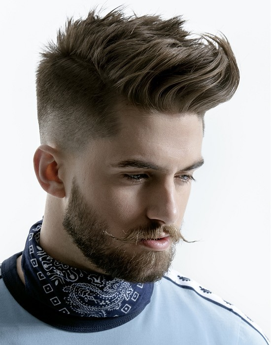 Taper hairstyle for men