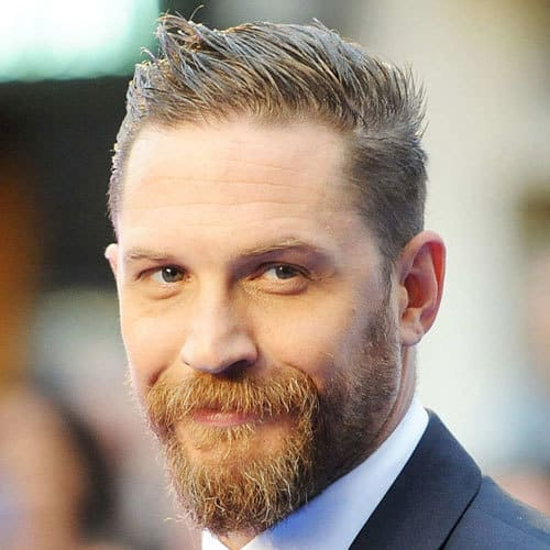 Tom Hardy Tapered Cut