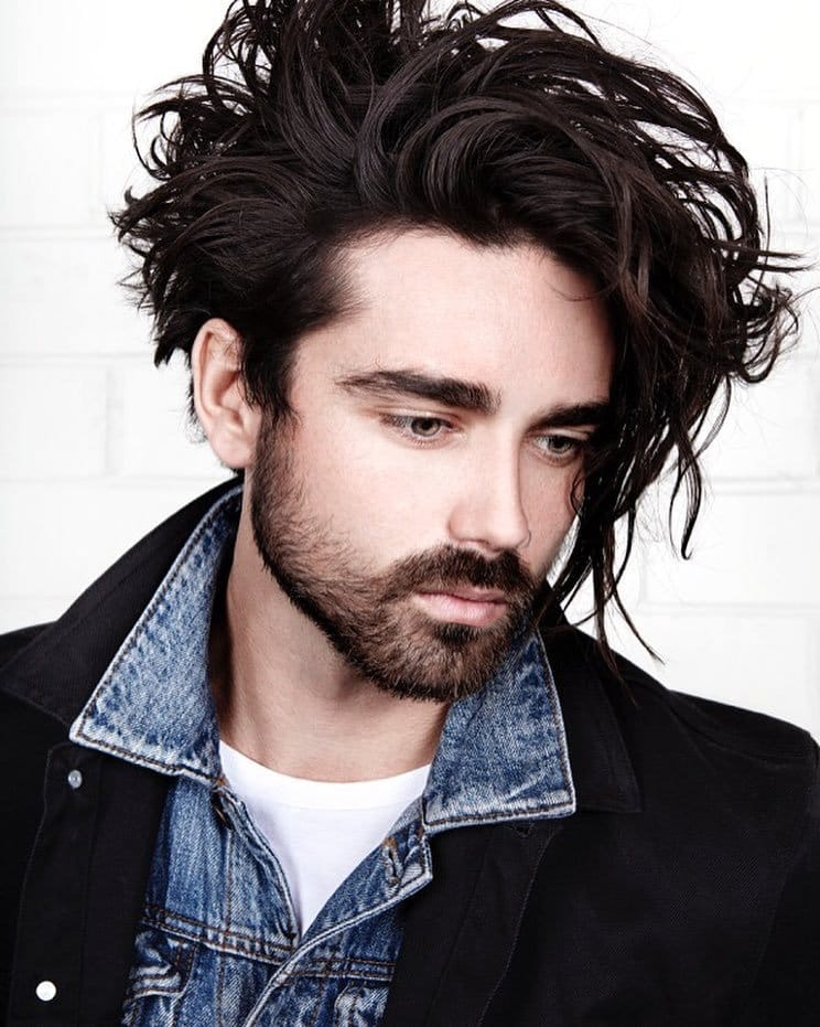 Texture hairstyle for men