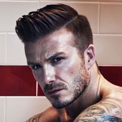 David Beckham Trendsetter Hairstyles All Time Best - David beckham recent hairstyle