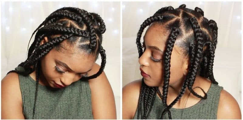 These 5 Triangle Braids Will Leave You Lovin Geometry