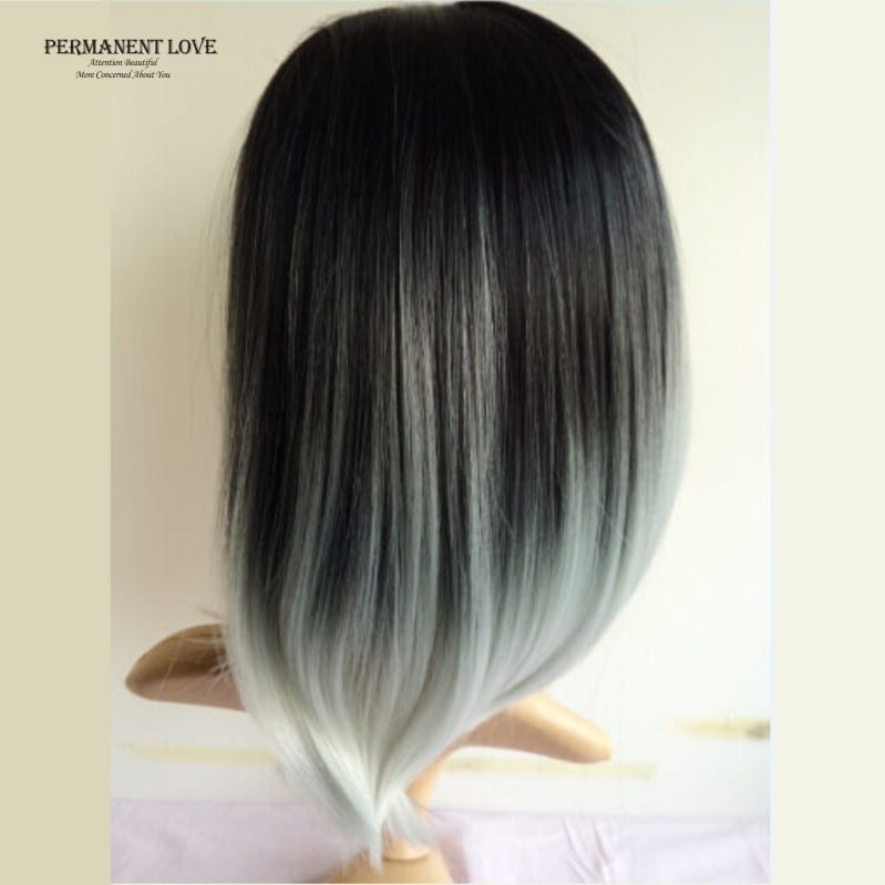 Two Toned Black Hair Hair Color Ideas And Styles For 2018