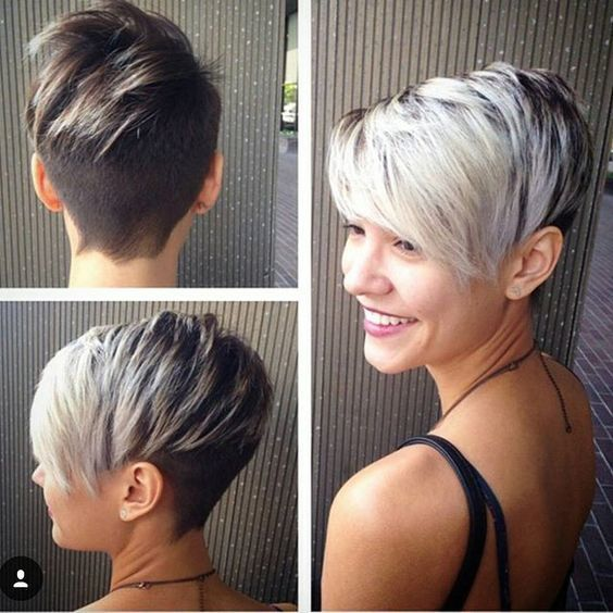 How To Dye Two Toned Hair 20 Best Two Tone Hairstyles