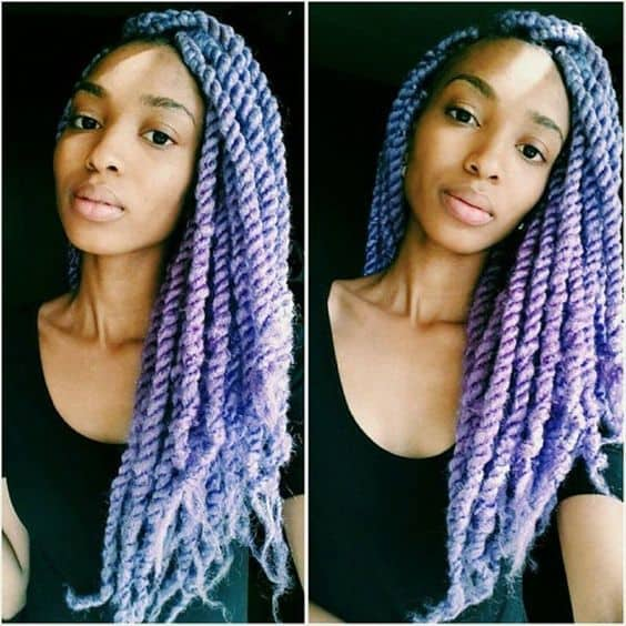 young girl favorite Unicorn Twists hairstyle