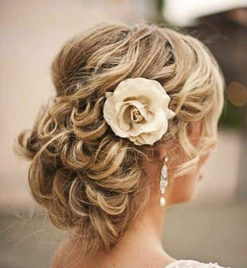 Updo with Waves and Wisps mother of bride hairstyle