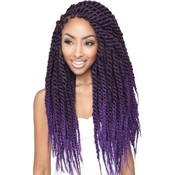 Violet Ombres hairstyle for girl you like