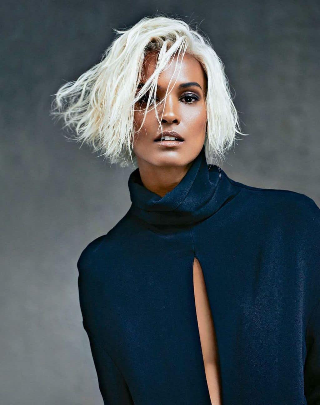 White Hair Ideas For Dark Skin 5 Beautiful Blends