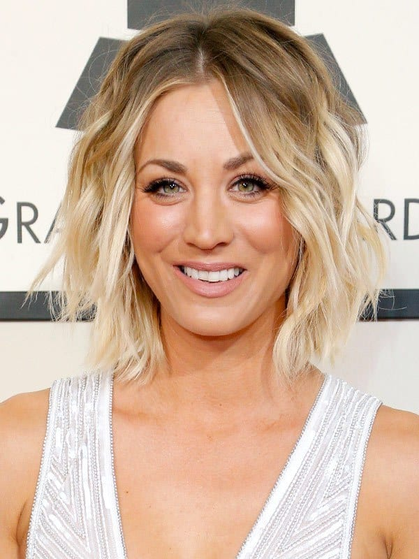 10 Tempting Kaley Cuocos Short Hairstyles Hairstylecamp