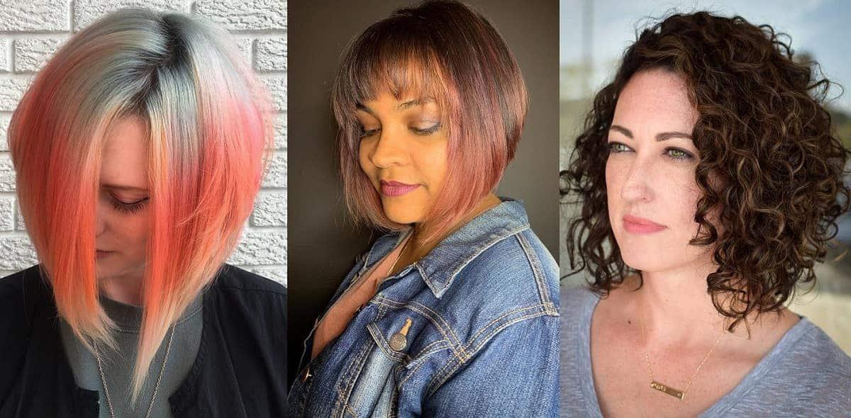 A-line bob haircut for women