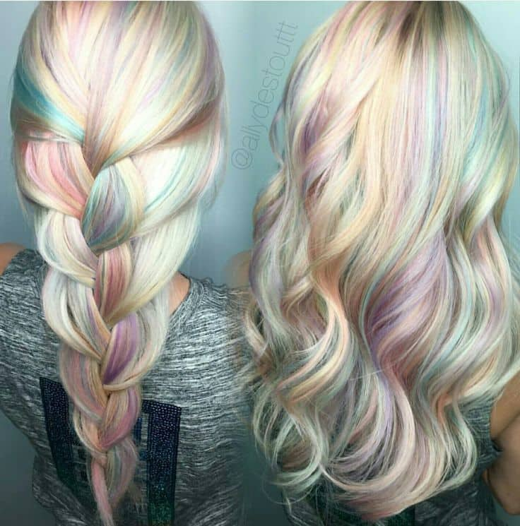 Blonde And Lilac Hair Find Your Perfect Hair Style
