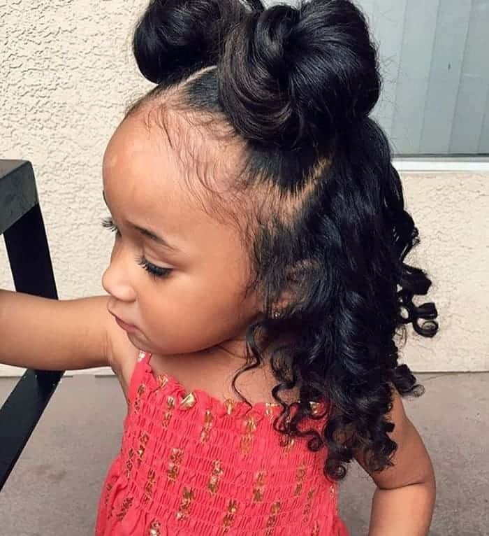 25 New African American Black Toddler Girl Hairstyles [2019]