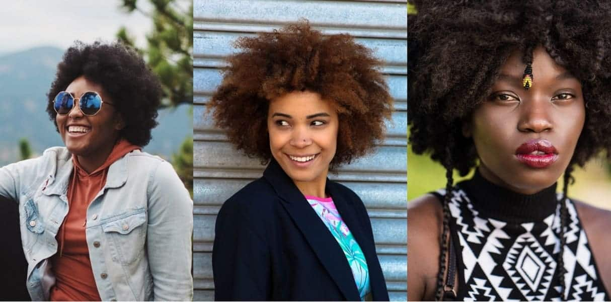 women's afro hairstyles