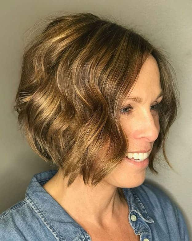 10 Latest Angled Bob Hairstyles With Layers 2020 Trends