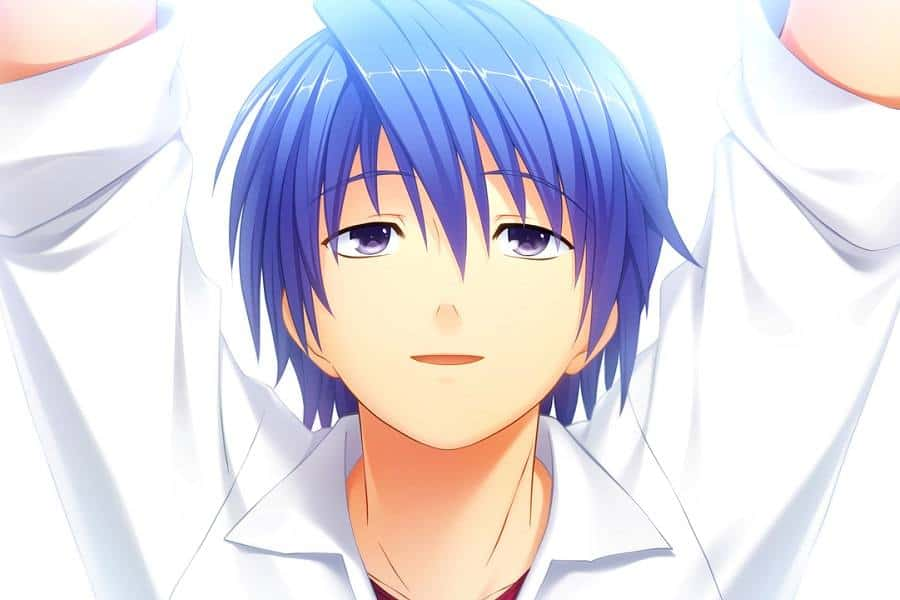 8 Of The Coolest Anime Boys With Blue Hair Hairstylecamp
