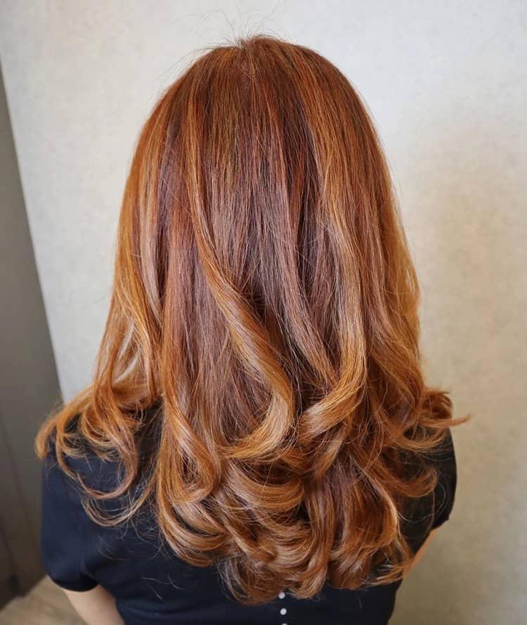 59 Top Images Auburn Hair Caramel Highlights / 60 Auburn ...