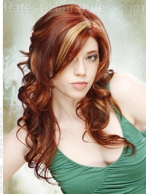 Outstanding 20 Startling Auburn Hair Color Ideas With Blonde Highlights Hairstyles For Women Draintrainus