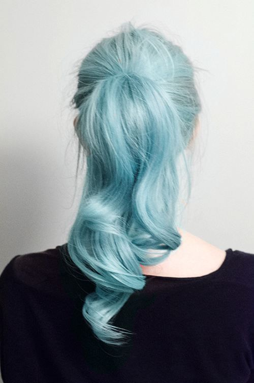 Baby Blue Pretty Hair Color