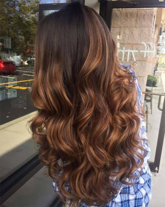 Best Hairstyles With Brown Balayage Hair Colors In order to make your choice of a brown balayage hair a little easier, we came up with 10 most stunning examples. Take advantage of these samples to understand whether or not this coloring technique is right for you. If your hair is black or brown, this balayage can be a wonderful choice. If you are tired of your blonde locks and want something darker, a brown balayage can become your hairstyle of choice. Don't stop at the most popular blonde balayage hairstyles. Go further and experiment.