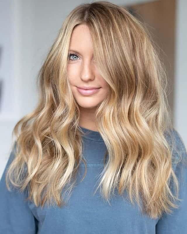 balayage long hair
