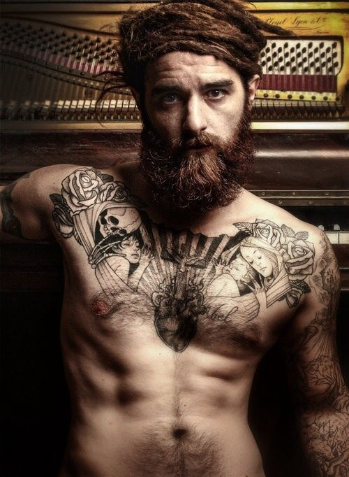 10 Boldest Beards And Tattoos Looks For Men