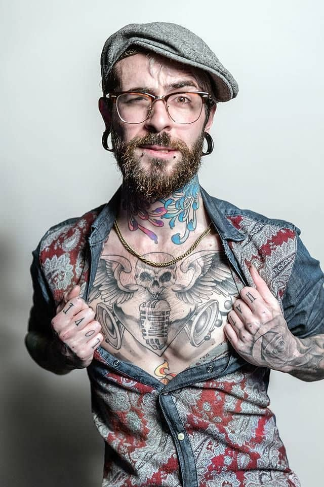 10 Bold Amp Unique Beard Plus Tattoo Styles For Men