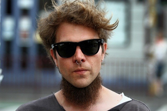 Beard Styles Without Mustache