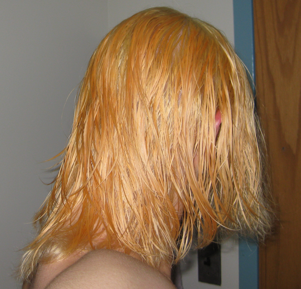 How to Get Orange Out Of Blonde Hair The Right Way