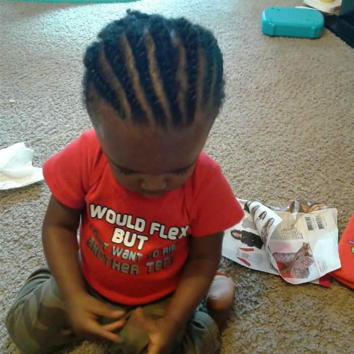 5 Super Cool First Haircut Ideas For Black Baby Boys