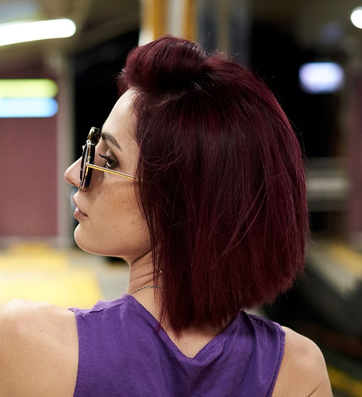 23 Black Cherry Hair Color Ideas To Choose From