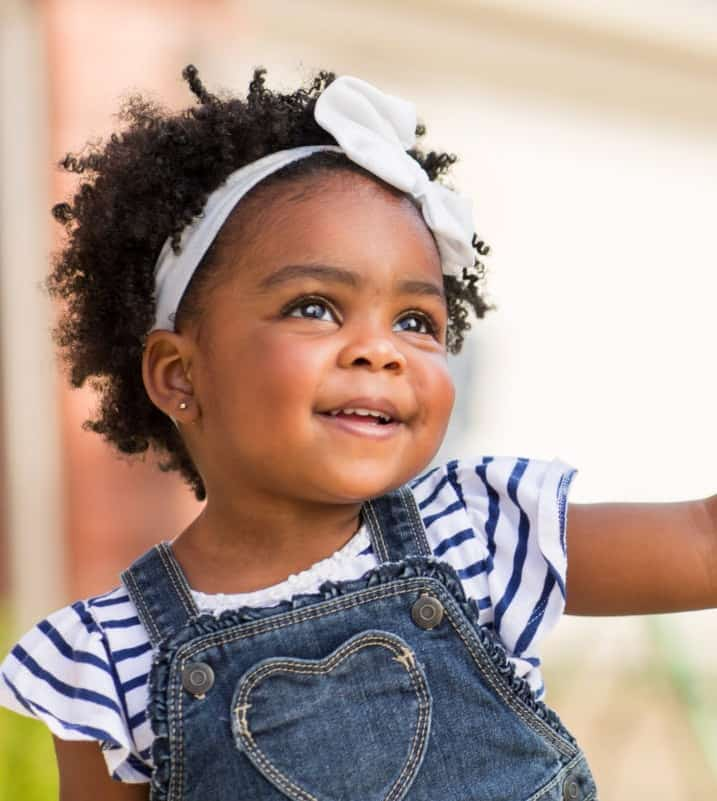 40 New African American Black Toddler Girl Hairstyles 2021