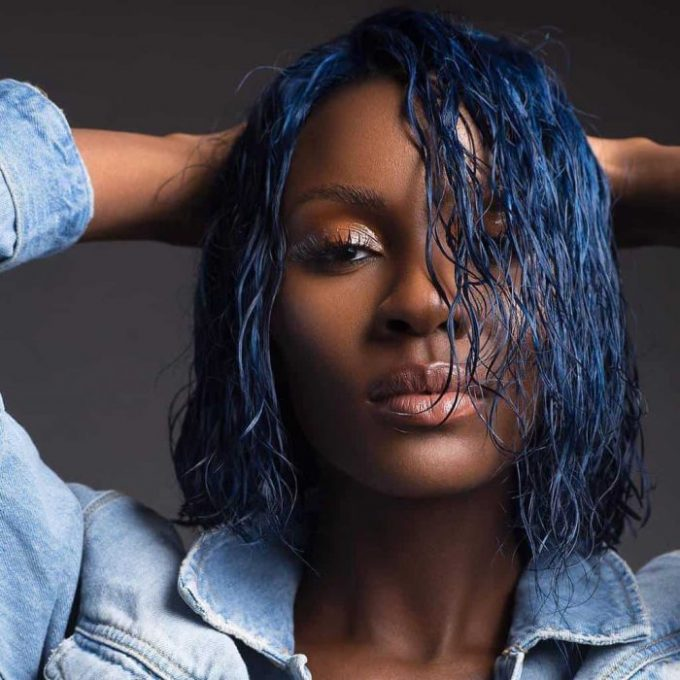11 Exotic Blue Hairstyles For Black Girls Hairstylecamp