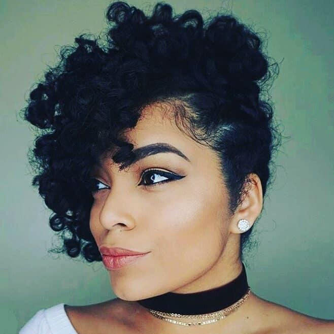 101 Majestic Short Natural Hairstyles For Black Women 2019