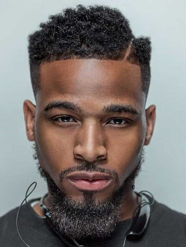 Give yourself a block short haircut for black men – an extra edge by cutting in a super straight Tramline. The precision of the line will help to enhance ...