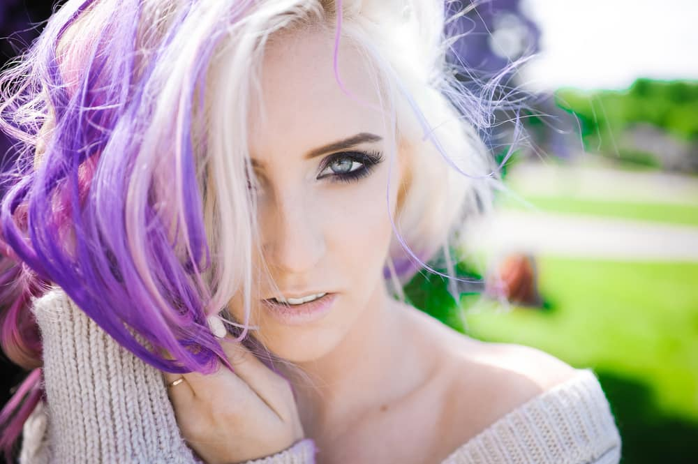 Blonde and Purple Hair – 20 Ways to Get Your Kicks