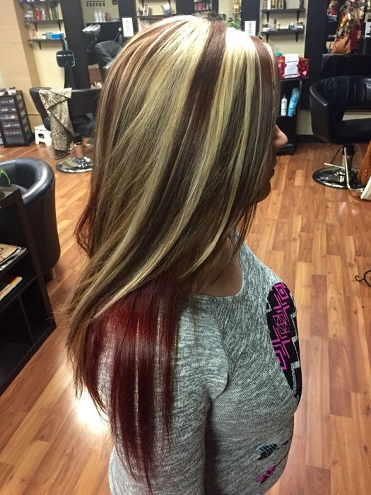 20 Original Black Hair With Blonde And Caramel Highlights