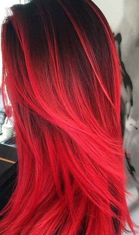 7 Hottest Blood Red Hairstyles For 2020