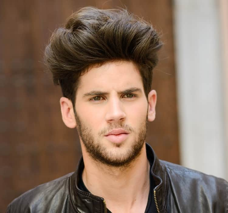blowout hair for men